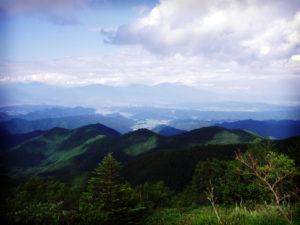 美ヶ原高原からの景色